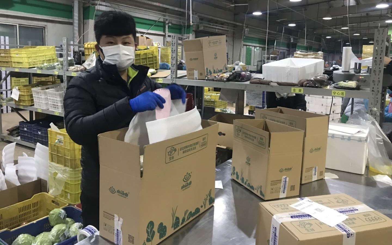 大农企小农户齐上阵 北京日产蔬菜2100吨图片