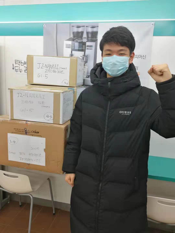 从韩国到武汉 高一学生的口罩捐赠故事图片