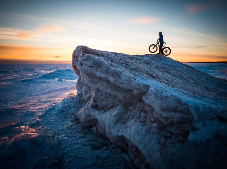 到此一游|冰雪消融,到明尼苏达州体验山间骑行