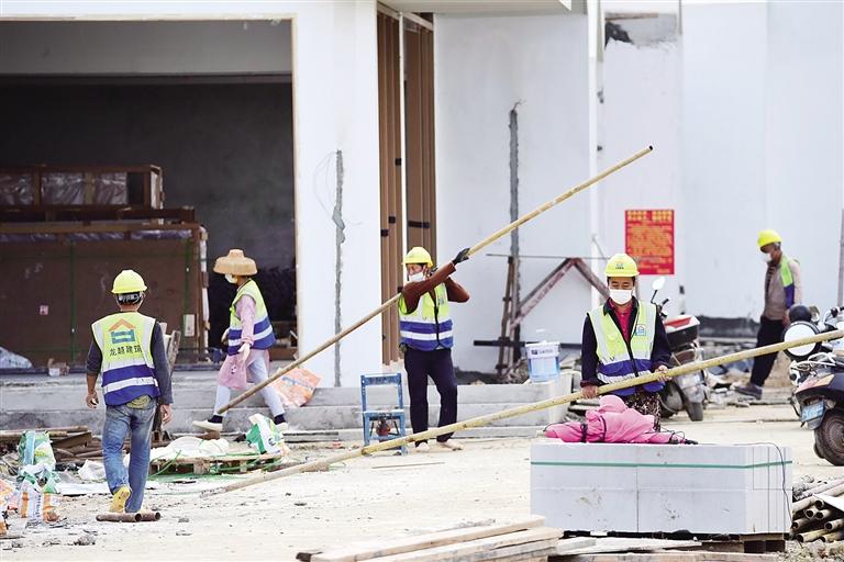 海南琼海博鳌服务保障博鳌亚洲论坛六大工程项目全部复工