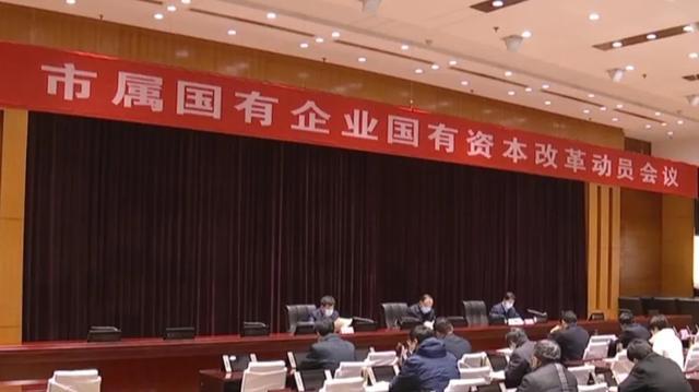 滨州市属国有企业国有资本改革动员会议召开