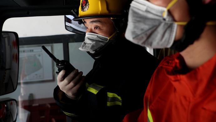 [蓝冠]湖北消防通过119受理蓝冠各类涉疫报警求图片