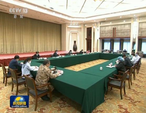 中央指导组:同湖北人民和武汉人民并肩战斗 坚决打赢湖北保卫战 武汉保卫战图片