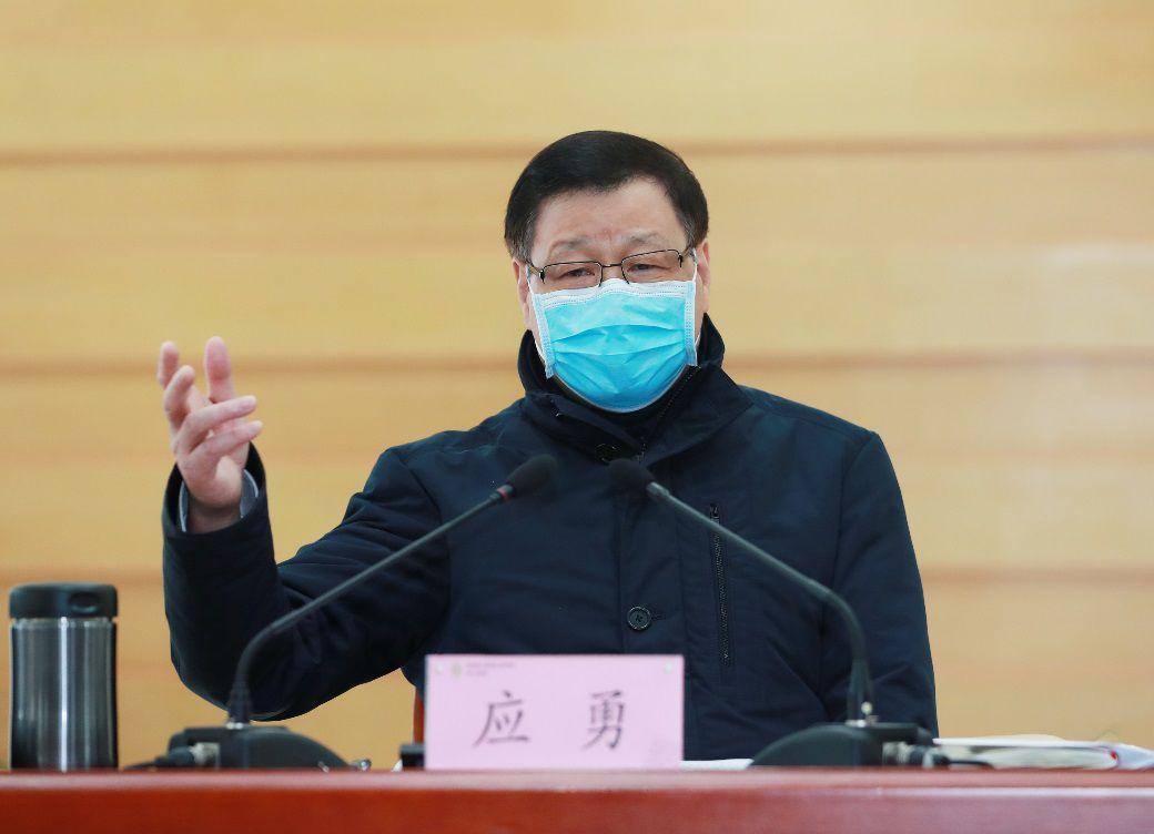 """从上海市长到湖北省委书记,应勇""""临危受命""""这一个月图片"""