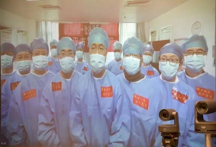 浙江省委书记连线援鄂医疗队:待春暖花开、疫情消灭时,迎接你们凯旋图片