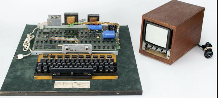 罕见的全功能Apple-1电脑拍卖价格超过45万美元