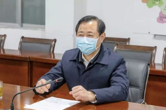 """湖北省纪委书记:坚决斩断伸向援鄂援汉钱物的""""黑手""""图片"""