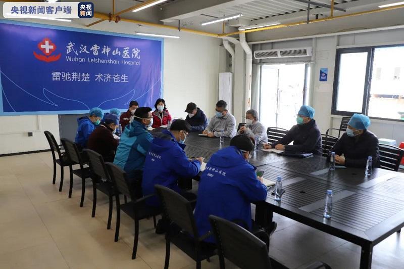 河北援鄂医疗队170名医护人员将进驻雷神山医院图片