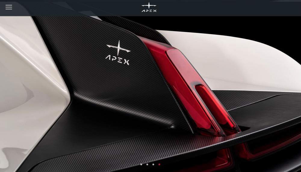 纯电动超跑再添新将?APEX AP-0破百只需要2.3秒!