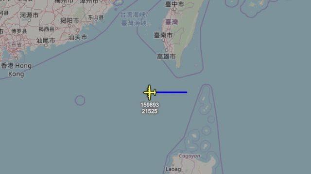 港媒:美军轰炸机闯南海 侦察机抵近香港附近空域图片