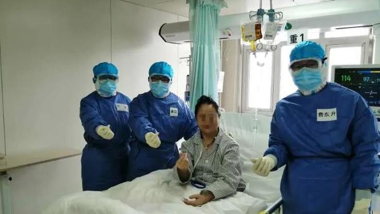 黑龙江省重症救治中心最后一名新冠肺炎重患转出ICU图片