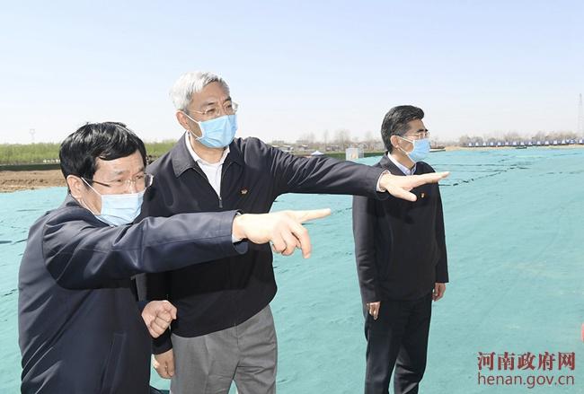 尹弘在商丘市调研时强调 切实做好复工复产安全防范工作图片