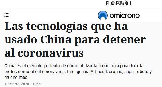 """外媒:中国科技抗""""疫""""成果突出 值得效仿图片"""