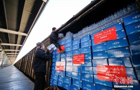 国铁集团累计装运防控保障物资10154批20.3万吨图片
