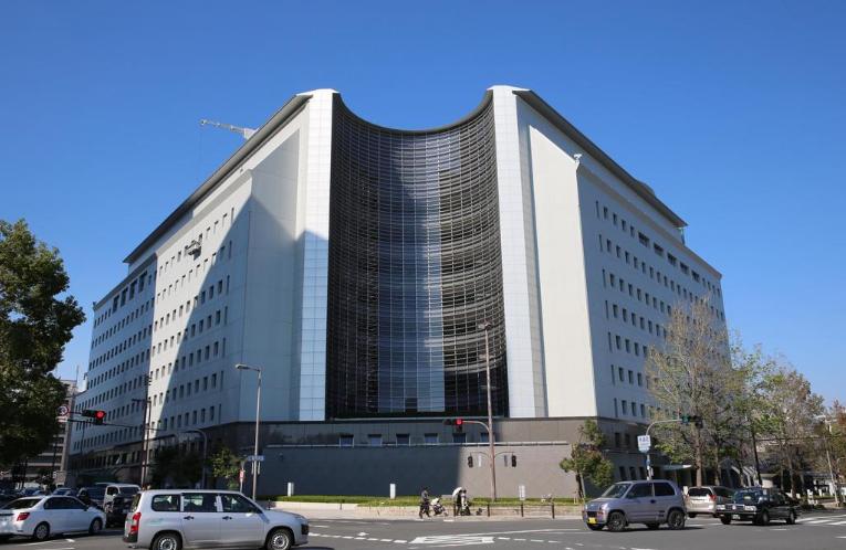 大阪警方总部(产经新闻)