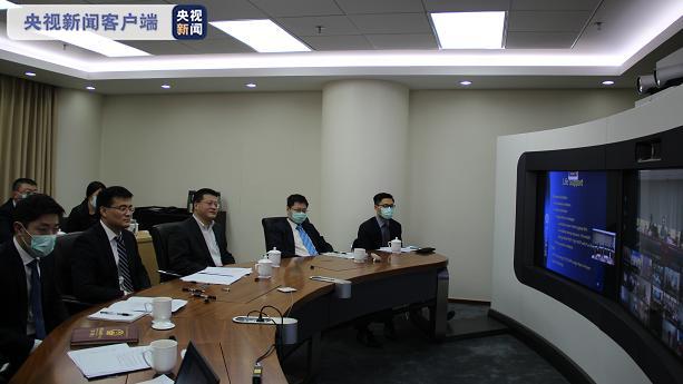 中国同欧亚和南亚地区国家举行新冠肺炎疫情防控问题视频会议图片