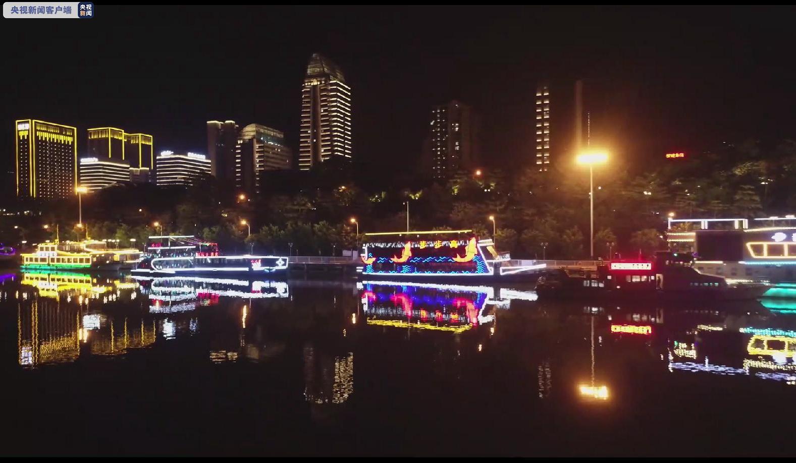 停运54天后 广西百里柳江夜游航线正式复航图片