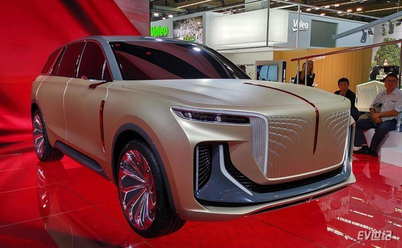 红旗纯电动SUV详细信息曝光 续航600km/2021年量产