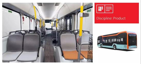 比亚迪纯电动巴士荣获2020德国iF