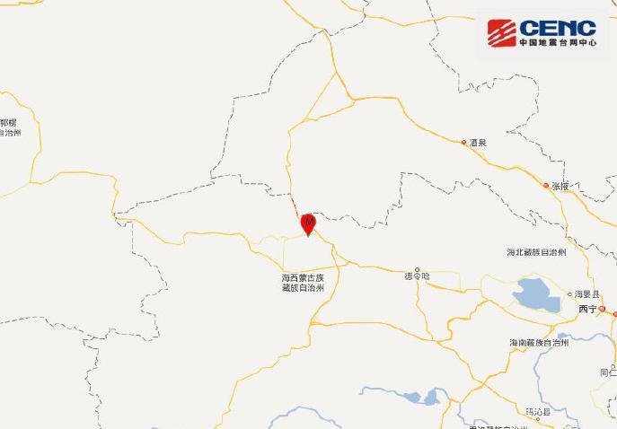 青海海西州发生4.0级地震 暂无人员伤亡图片