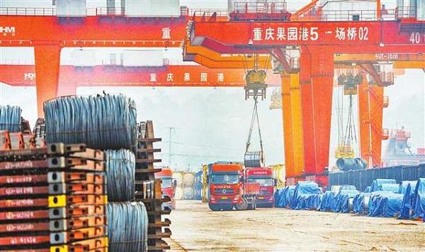 [重庆]铁路货运量大幅回升(图)