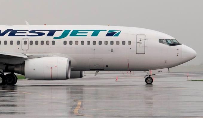 加拿大西捷航空飞机(图:城市新闻)