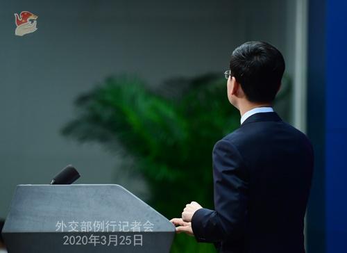 蓬佩奥称中方拒绝提供防控新冠肺炎疫情所需信息 耿爽回应