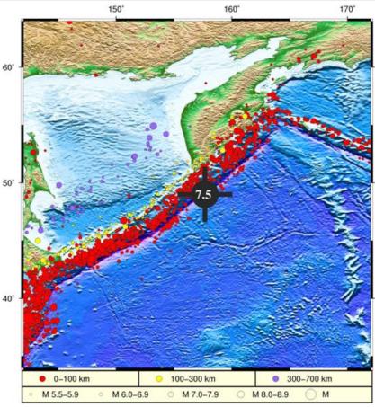 自然资源部:千岛群岛以东海域地震已在震源附近引发局地海啸图片