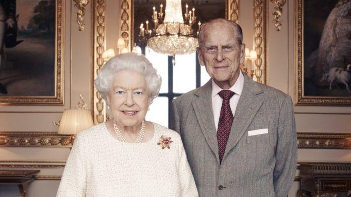 女王夫妇(图:BBC)