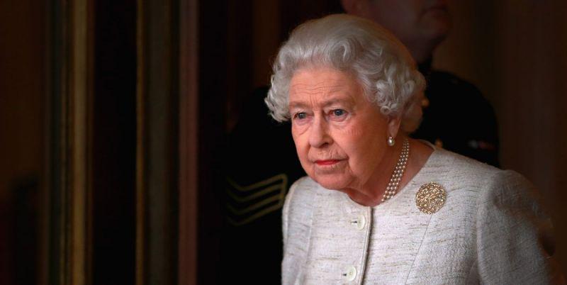 英女王伊丽莎白二世(图源:雅虎新闻网)