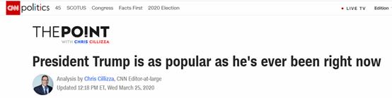 特朗普这套真管用!民意支持率上升图片