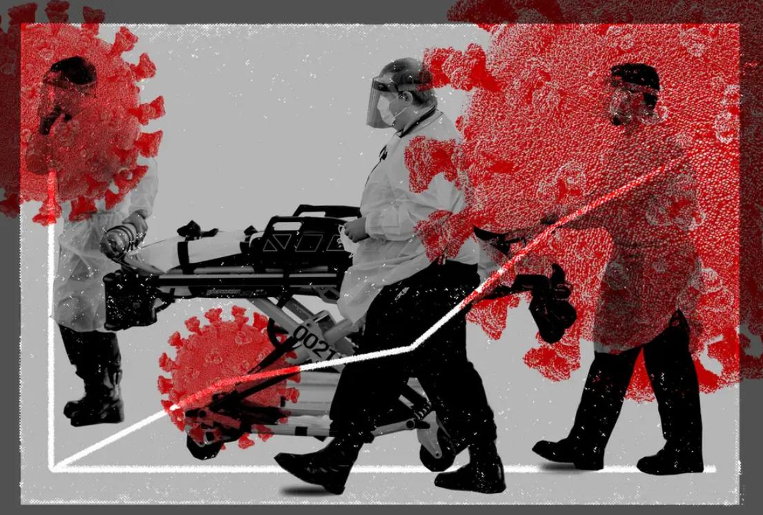 """美媒曝疫情""""内幕"""":医护人员称美国新冠肺炎死亡病例""""比知道的还要多""""!"""