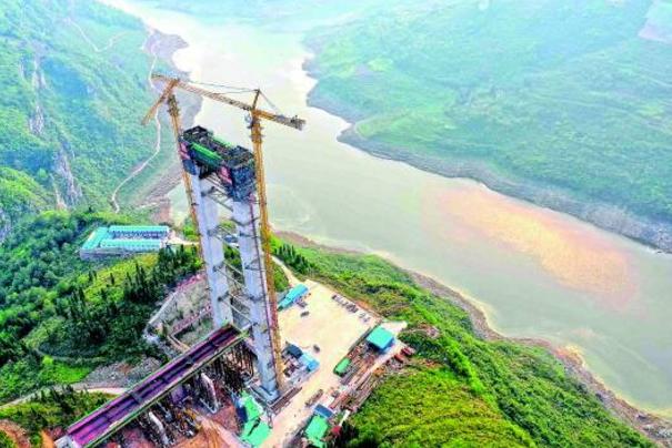 贵州桥梁又一个世界第一!瓮开高