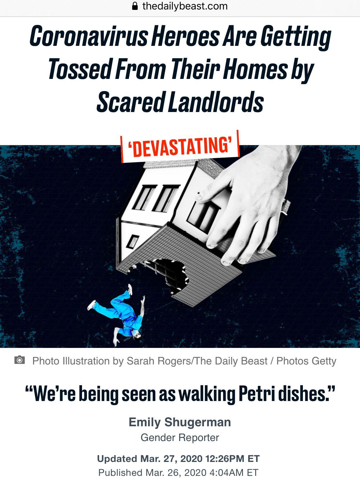 """""""我们像垃圾一样不受人待见"""",美医护人员遭歧视:被房东赶走,租不到房…"""