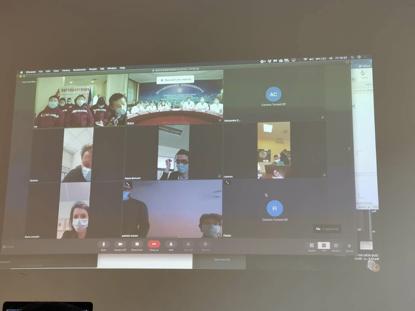 中国赴意医疗专家组组织多方连线 分享防治经验
