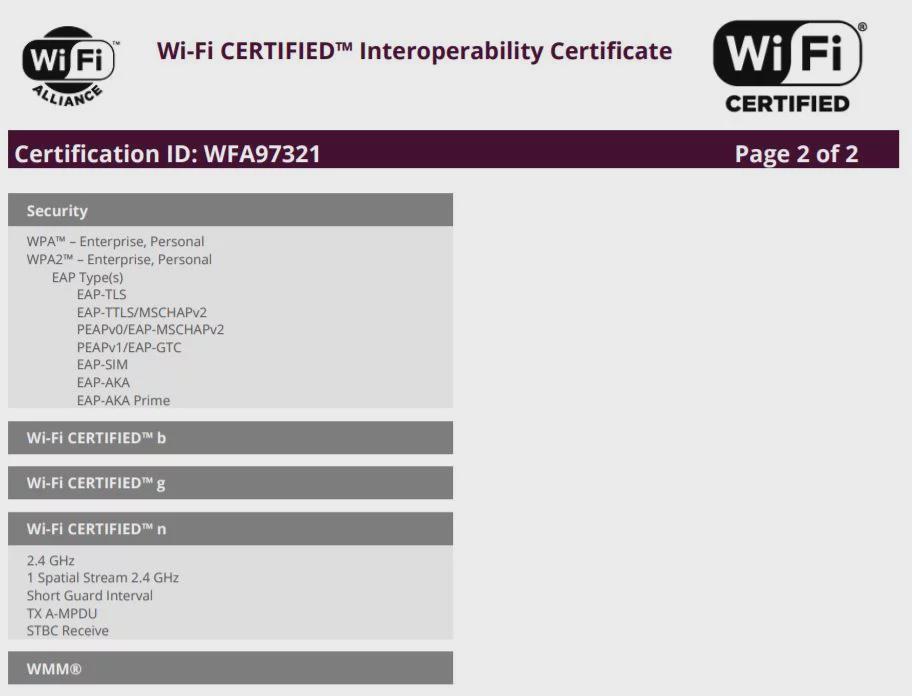 Galaxy M01通过Wi-Fi认证:运行Android 10