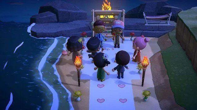 日本玩家在游戏里举办婚礼|livedoor News