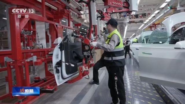 上海特斯拉工厂复工 90%以上员工恢复工作图片