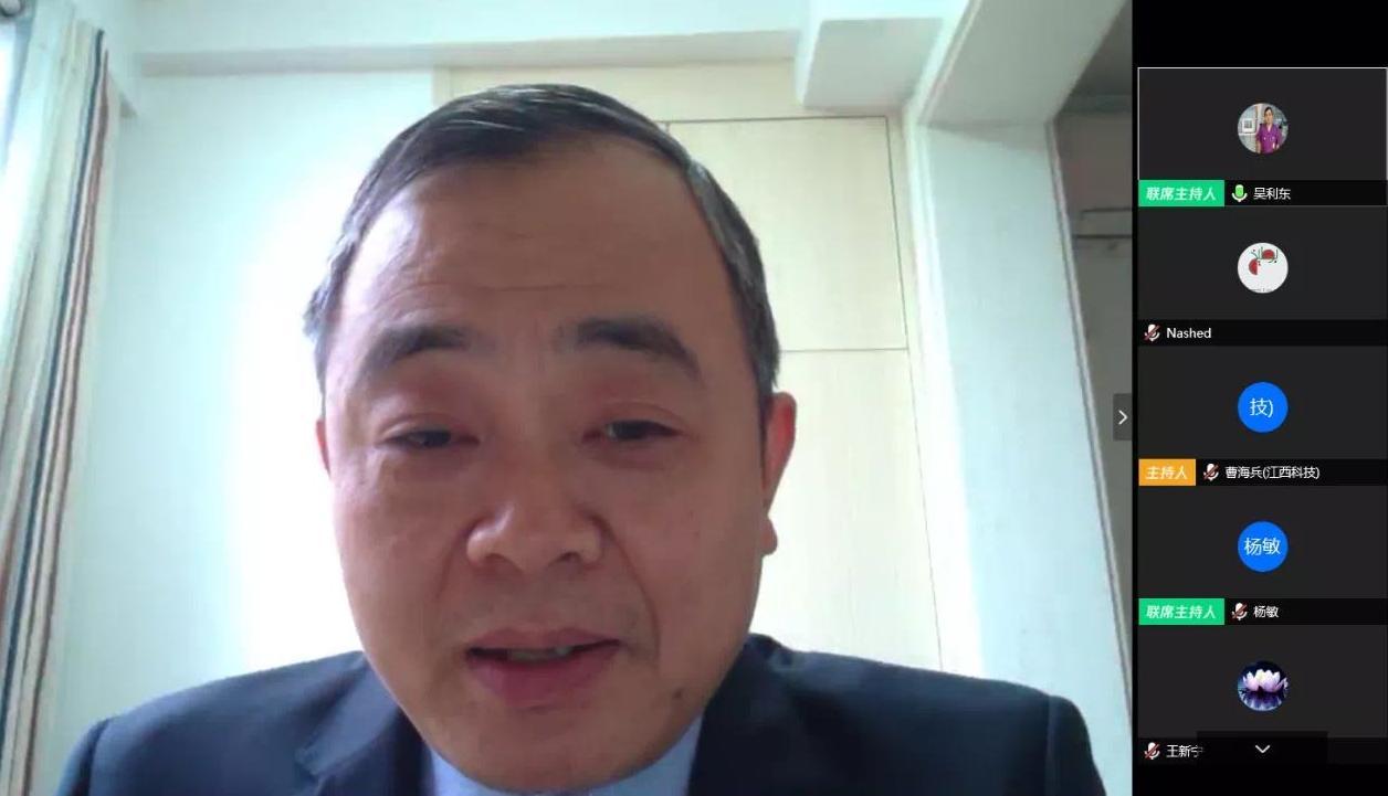 中国驻沙特大使馆为在沙中国留学生组织疫情防控在线讲座图片