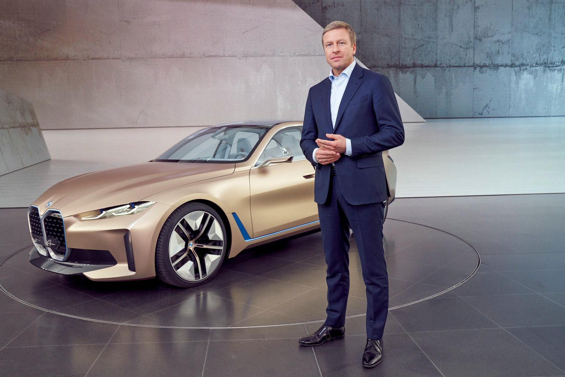 BMW i4概念车全球首发,宝马持续推进电动化战略图片
