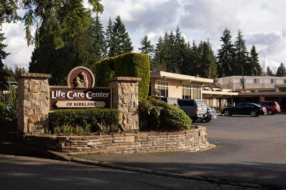 西雅图郊区Life Care养老院,图据《商业内幕》