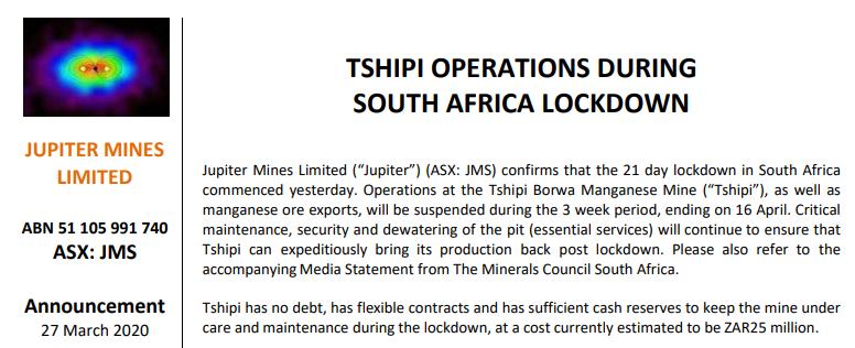 期货市场风云:南非禁令乍起 吹皱锰硅一池春水