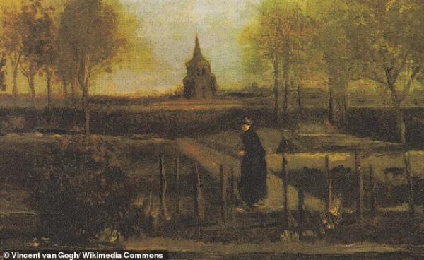 今天是梵高生日 他的画作《春天花园》被盗