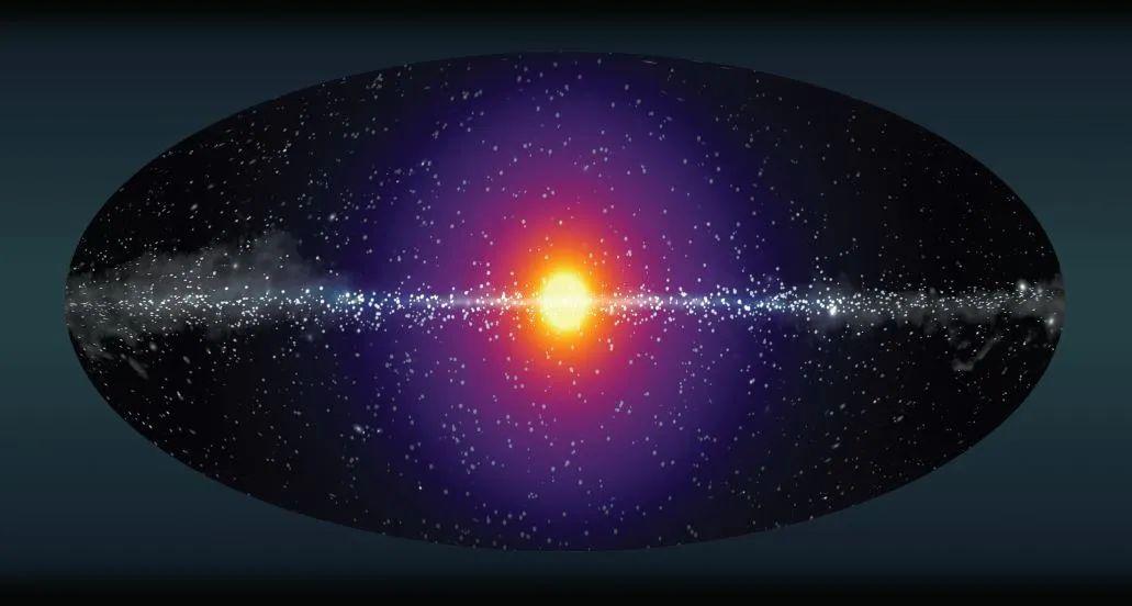 """银河系""""暗物质信号""""是乌龙?两篇论文挑战其真实身份"""