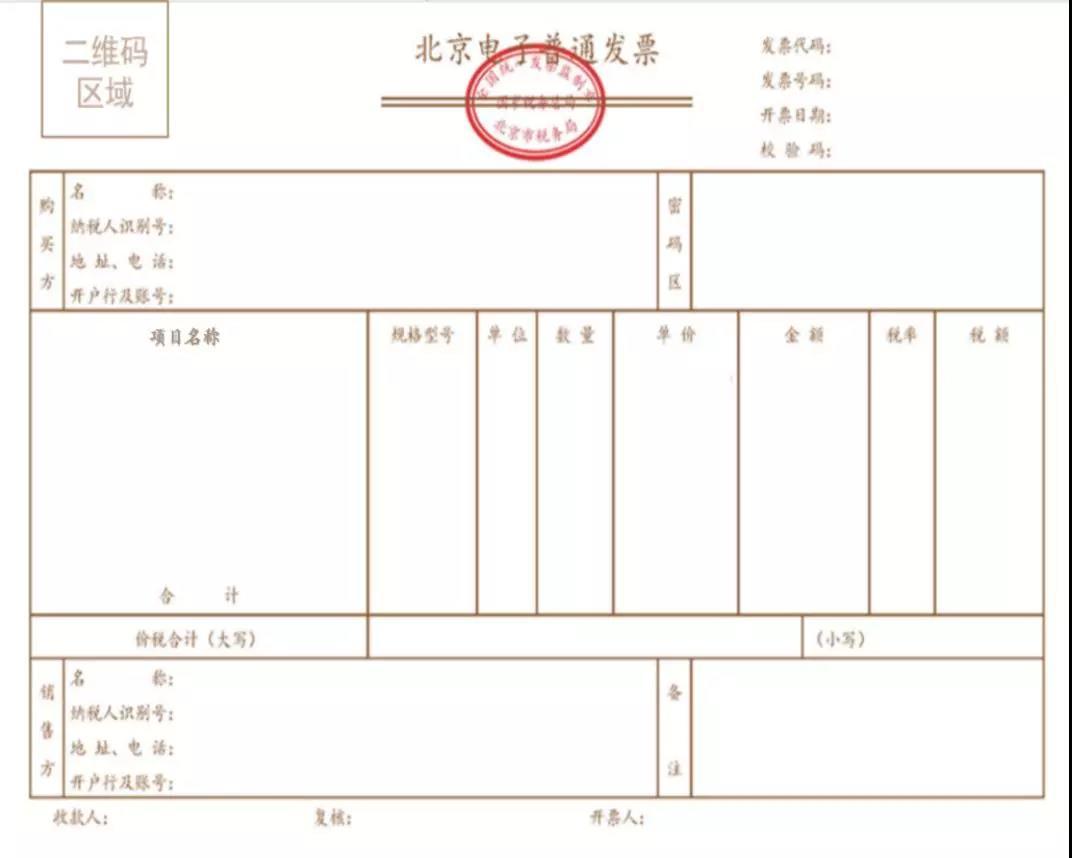 北京试点区块链电子普通发票,从停车通用发票、景点门票开始图片