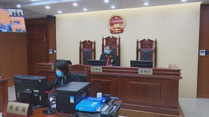 浙江衢州在线开庭 捕食野生动物行为当场判决图片