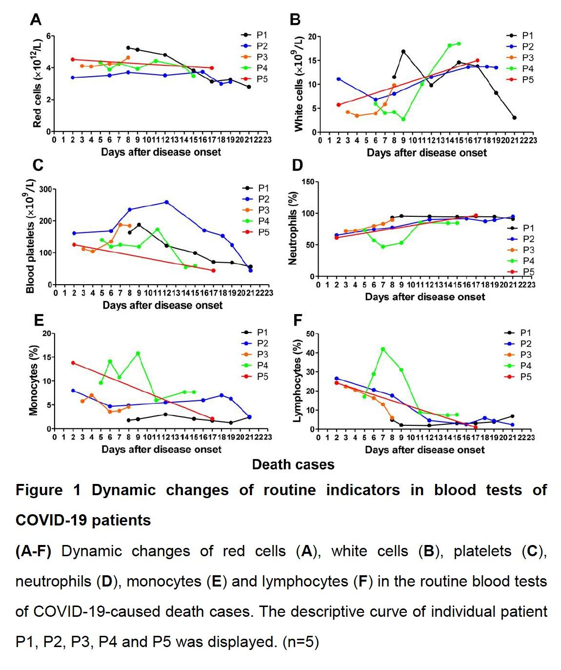 162例新冠患者研究:淋巴细胞比例可作病情严重程度指标图片