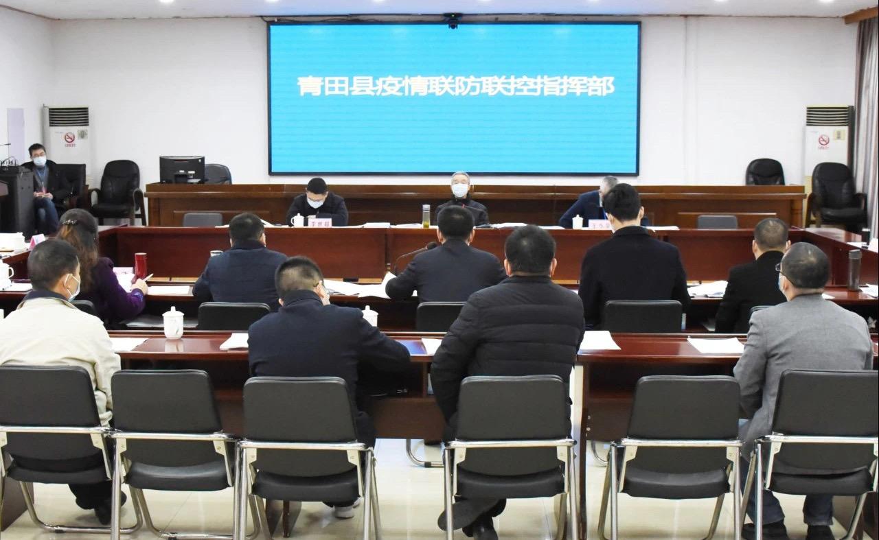 丽水市委书记青田调研:把防控境外疫情输入风险摆到重中之重图片