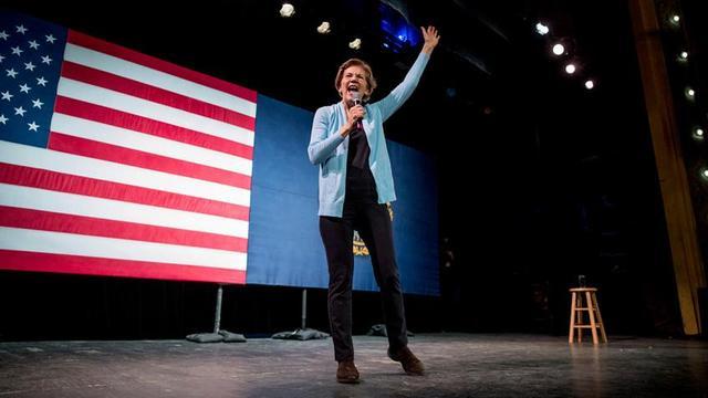 美媒:伊丽莎白·沃伦或退出民主党总统初选