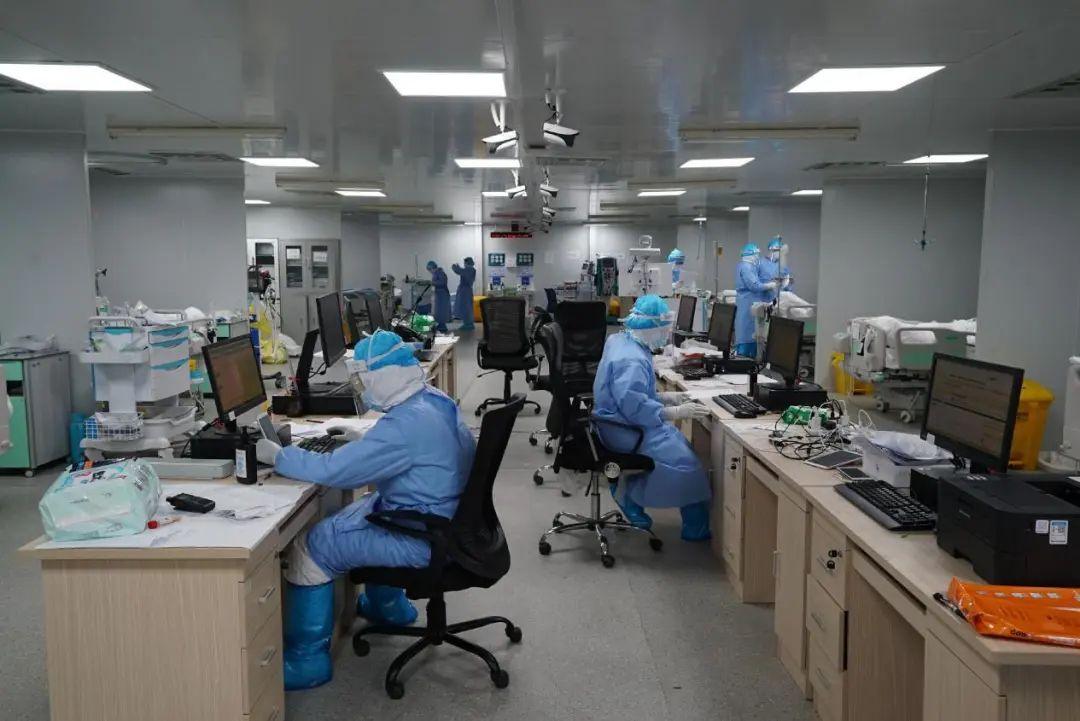 火神山医院icu里的生死较量图片
